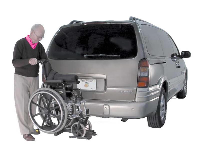 Wheelchair Lift For Car >> Tilt N Tote Wheelchair Lift